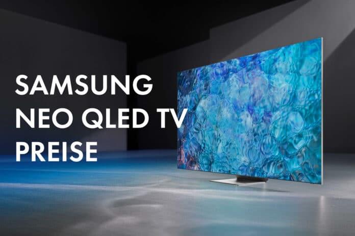 Samsung Schweiz veröffentlicht die Preise der 4K & 8K NEO QLED TVs 2021