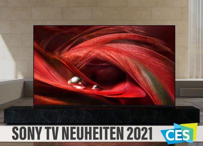 Sonys TV-Neuheiten 2021: 4K/8K Fernseher mit OLED und LCD Technologie