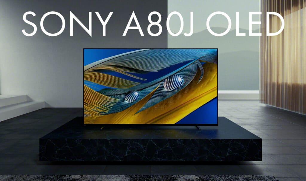 Der Sony A80J 4K OLED TV im Überblick