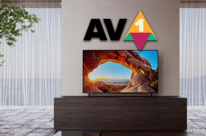 Sony integriert den AV1 Codec in sein 2021 TV-Lineup (ab A80J)