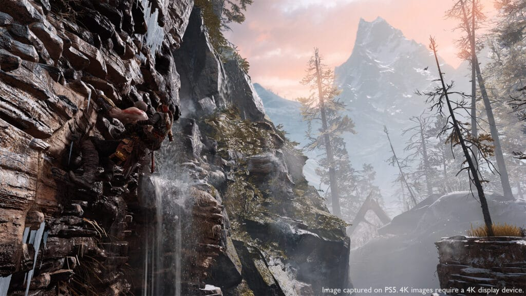 Screenshot aus God of War in der PS5-Enhanced Version