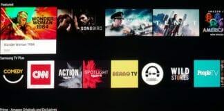 """Tizen OS auf einem Samsung """"The Premiere"""" 4K Projektor"""