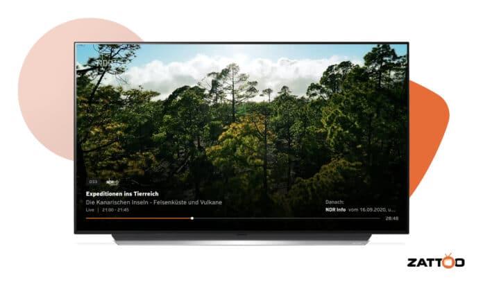 Die App für Zattoo erreicht aktuell die Smart TVs von LG.