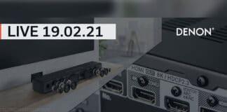 Die mittlerweile fünfte DENON LIVE Talkrunde mit dem Home Sound Bar 550, HDMI 2.1 und 8K Gaming