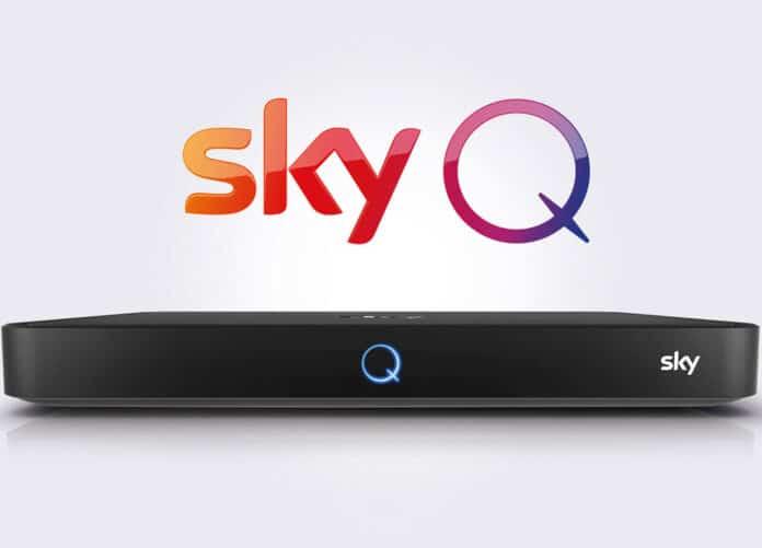 Nach einem Update verschwinden manchmal TV-Sender vom Sky Q Receiver!