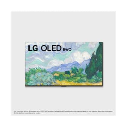 G1 Gallery 4K OLED Evo TV Frontansicht