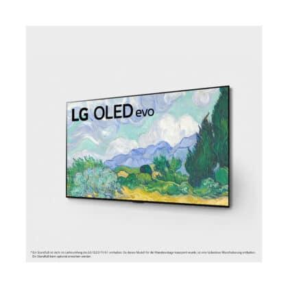 G1 Gallery 4K OLED Evo TV Frontansicht in der Perspektive