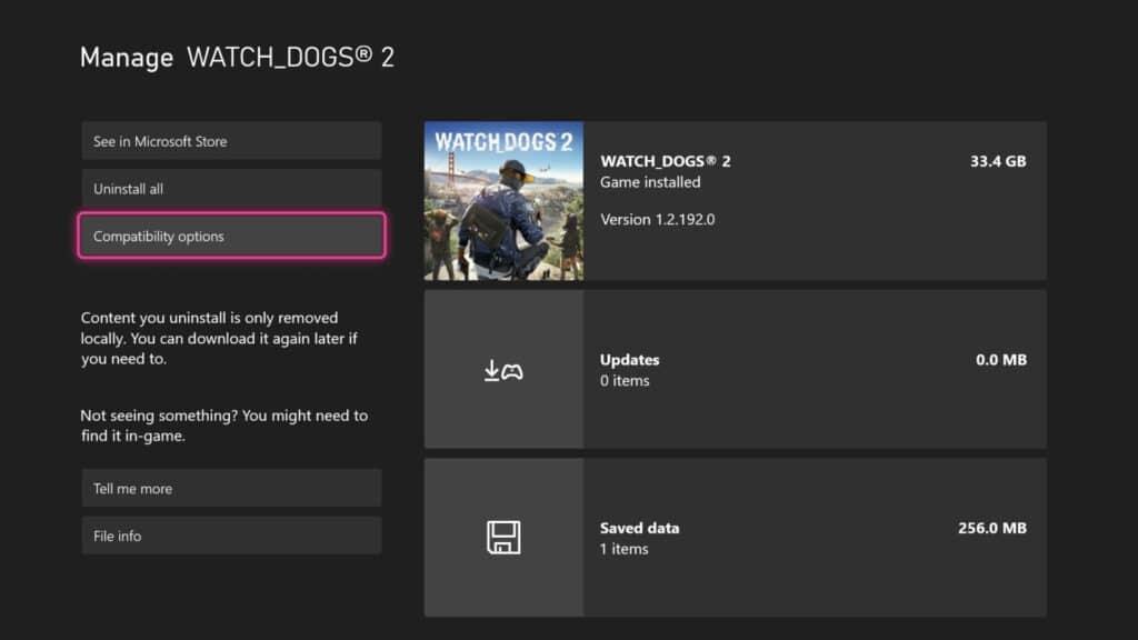 Das neue Dashboard-Update im Frühling liefert z.B. die Kompatibilitäts-Steuerung im Game-Menü