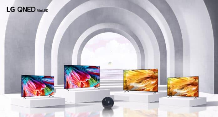 Die neuen LG QNED 4K & 8K Fernseher mit MiniLED-Backlight!