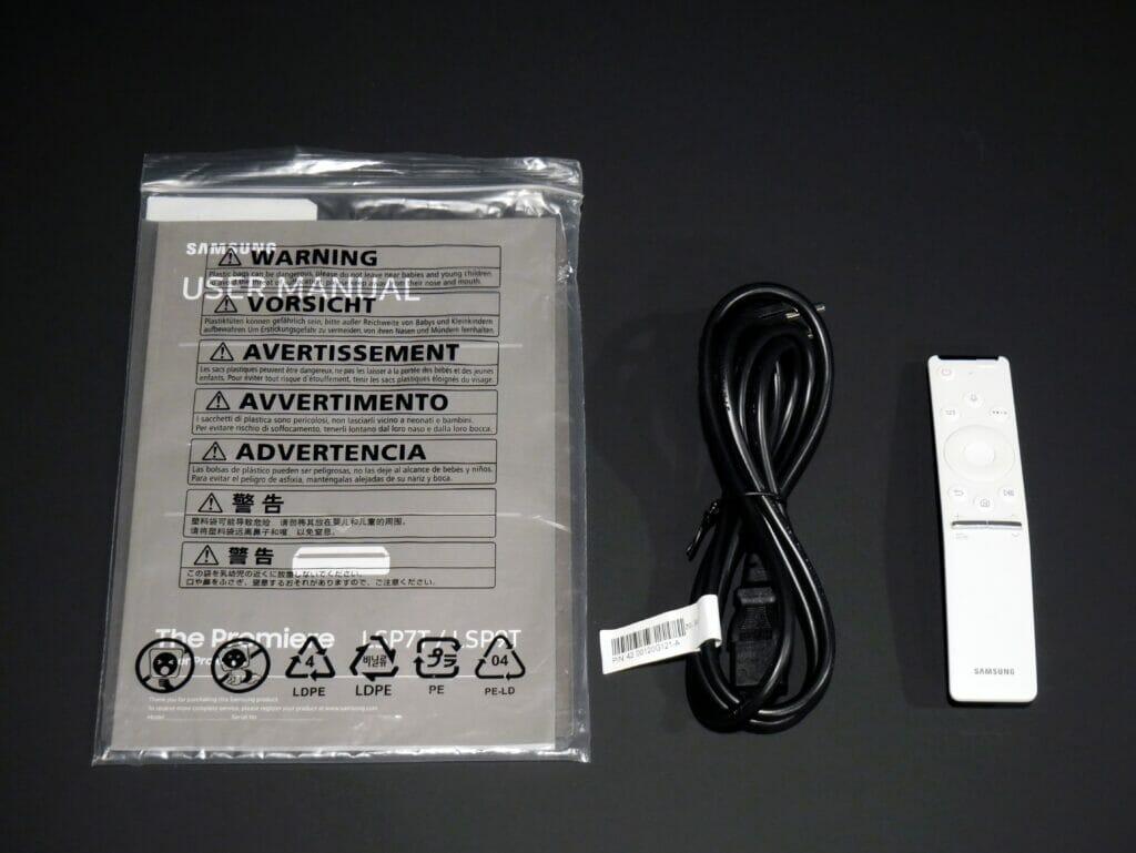 LSP9 Lieferumfang Samsung