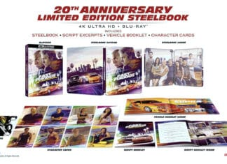 Zum 20-Jährigen: The Fast and the Furious als limitiertes 4K Blu-ray Steelbook