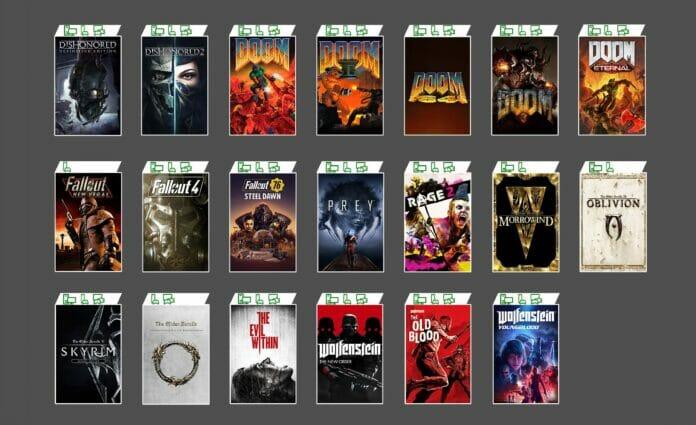 20 neue Spiele von Bethesda, iD Software uvm. im Xbox Game Pass!