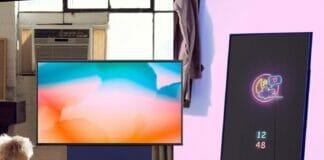 """Für 799 Euro kann man sich den """"The Sero"""" Lifestyle-TV (4K QLED) schon einmal näher anschauen"""