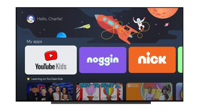 Google TV lässt euch bald Kinder-Profile einrichten.