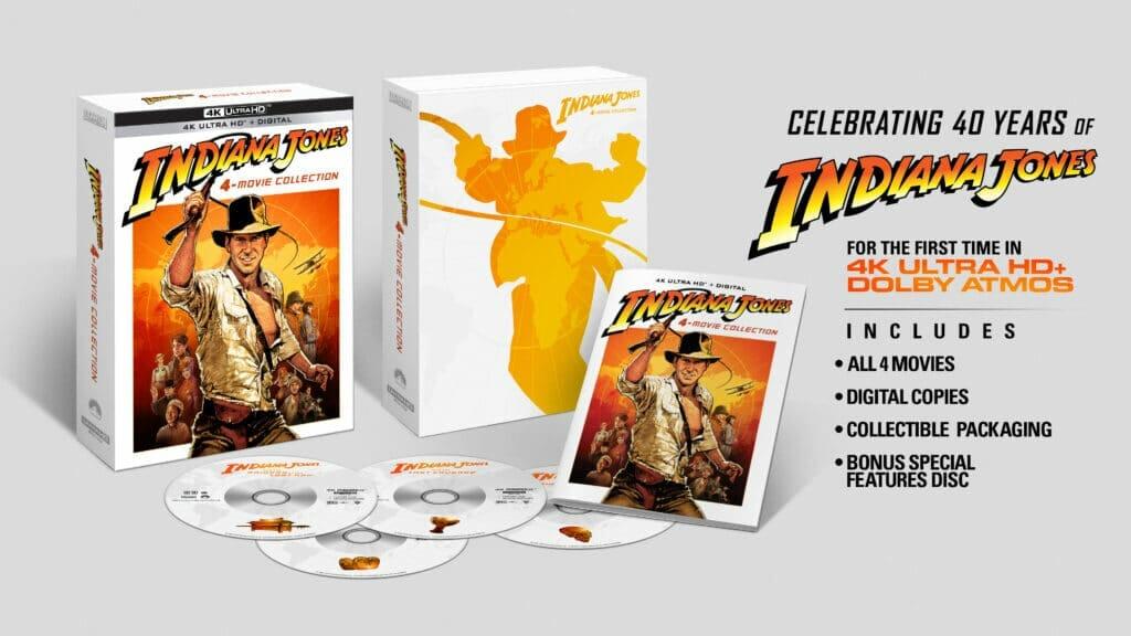 """Indiana Jones"" erscheint am 8. Juni 2021 auf 4K Ultra HD Blu-ray"