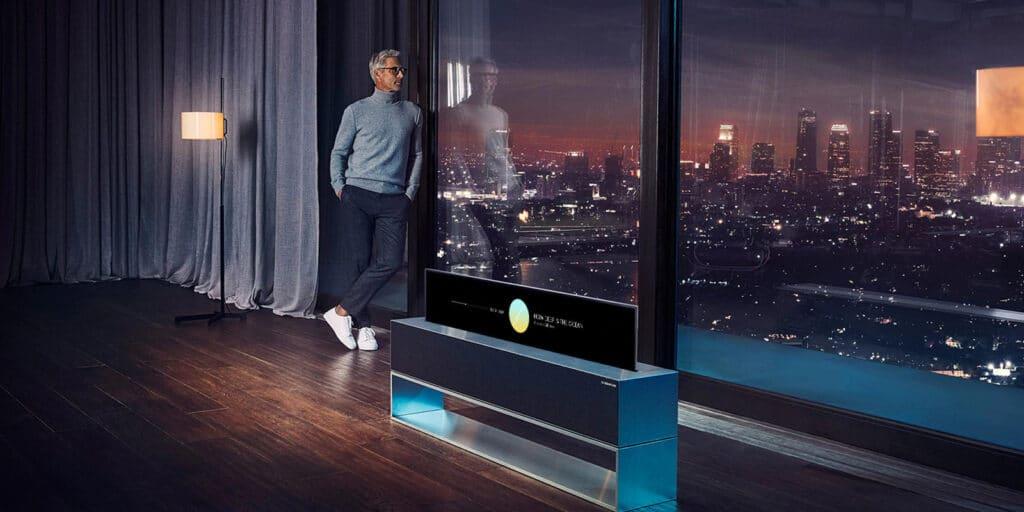 Der LG OLED R alias RX soll sich in Südkorea nur zehnmal verkauft haben.