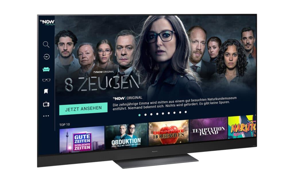 TVNow gibt es nun für unzählige Smart-TVs von Panasonic