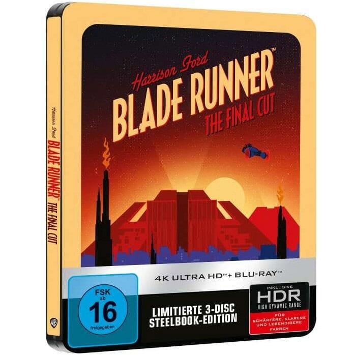 Blade Runner 4K Blu-ray Steelbook