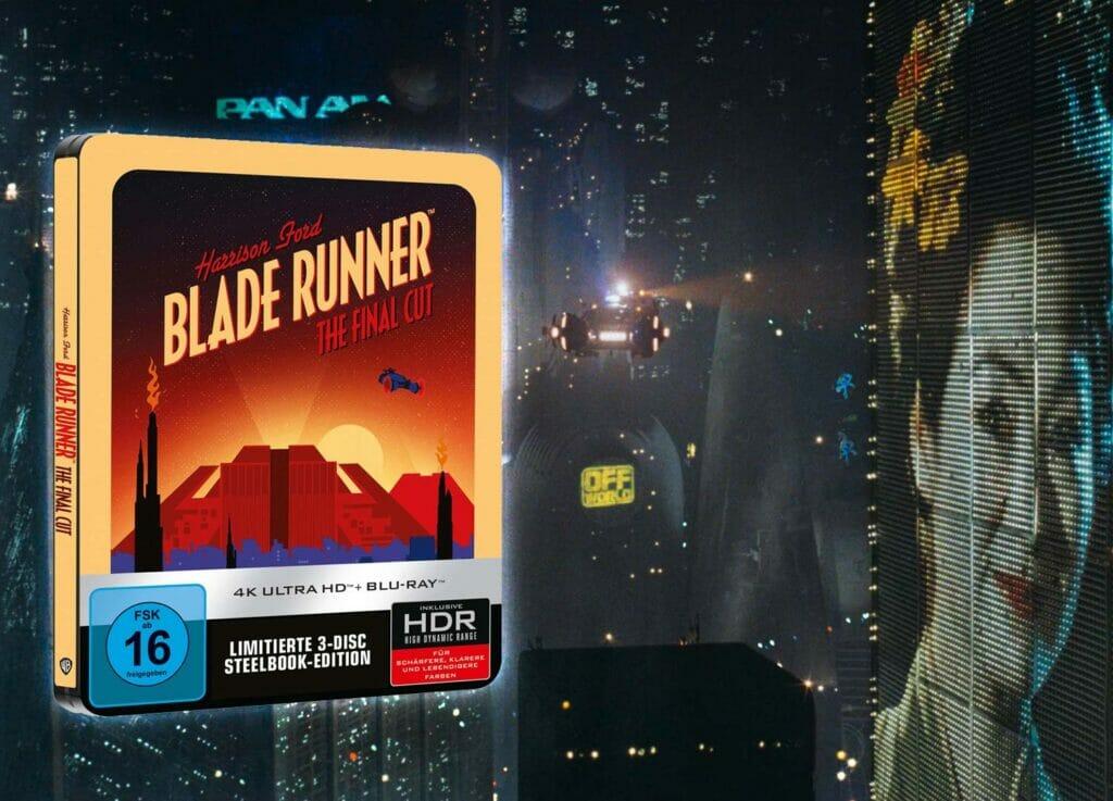 """Wieder vorbestellbar: """"Blade Runner - Final Cut"""" 4K Blu-ray Steelbook"""