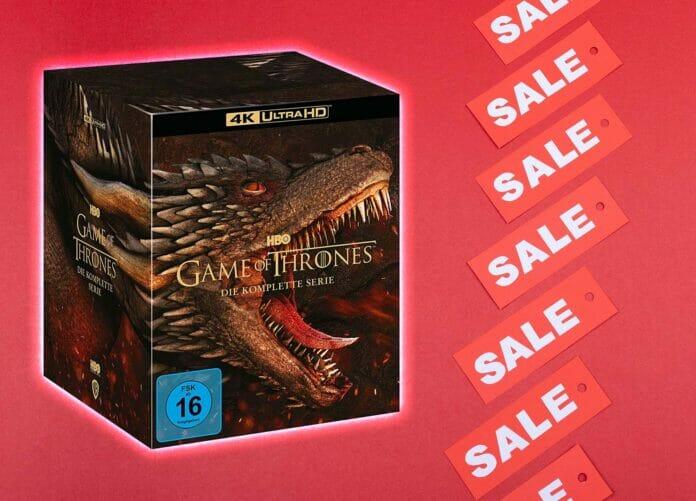 Jetzt günstig die Game of Thrones 4K Komplettbox ergattern!