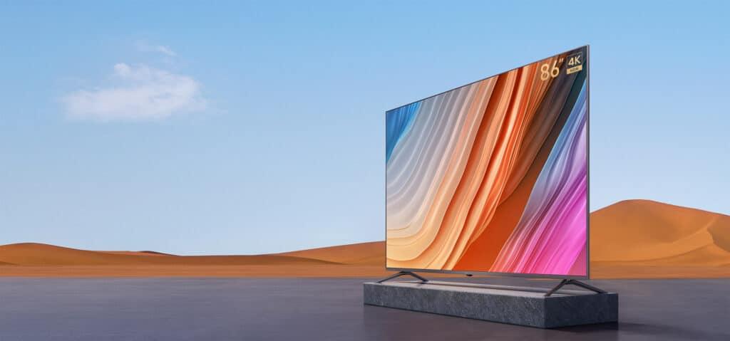 Leider wurde der günstige Redmi MAX 86 Zoll 4K Fernseher noch nicht für den Deutschen Markt angekündigt