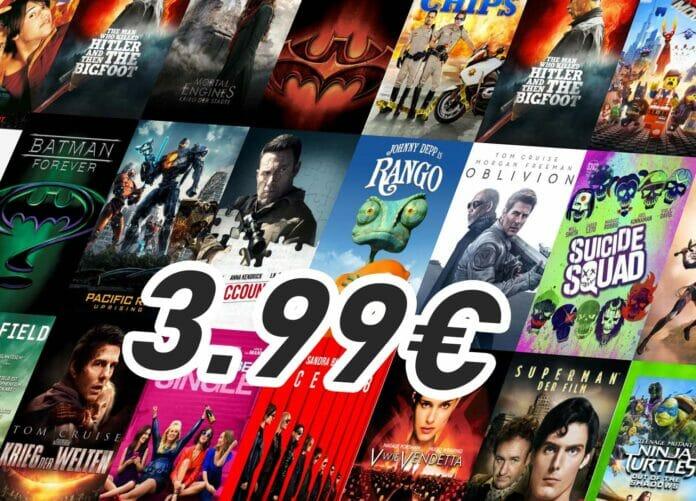 Aktuelle 4K-Film-Kaufangebote auf iTunes - nur 3.99 Euro je Blockbuster