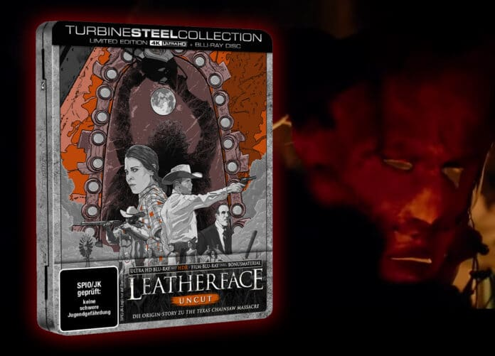 Leatherface limitiertes 4K Blu-ray Steelbook