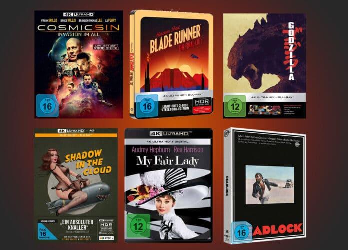 Hochkarätige Neuzugänge auf 4K Blu-ray! Vor allem Fans von Filmklassikern kommen auf ihre Kosten