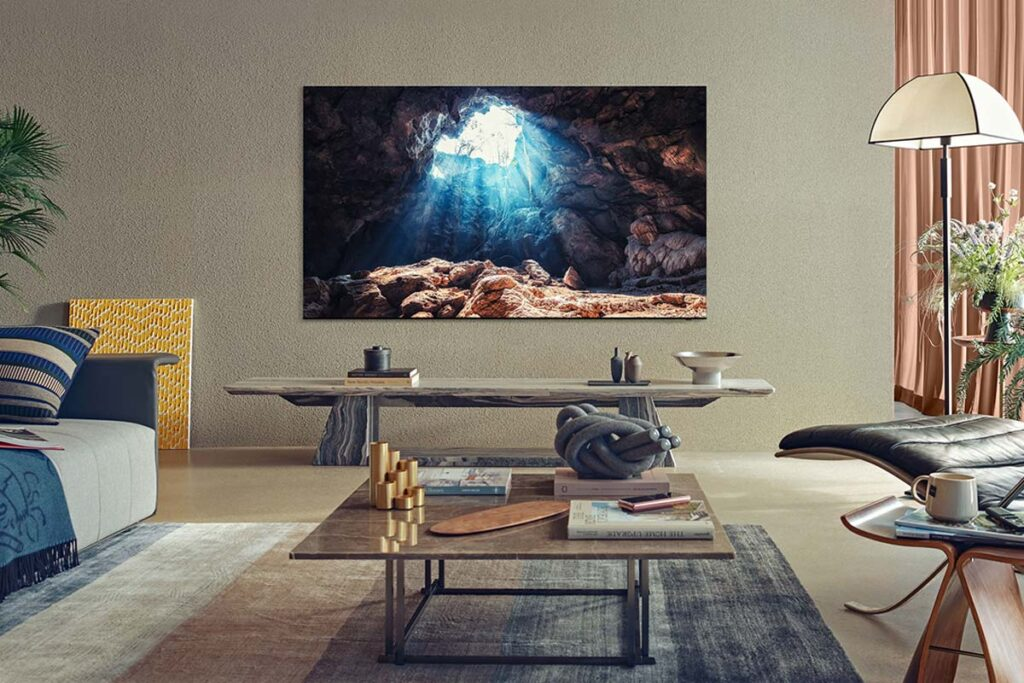 Für die High-End-Modellreihen der NEO QLED TVs gibt es eine professionelle Bildkalibrierung ab Werk!