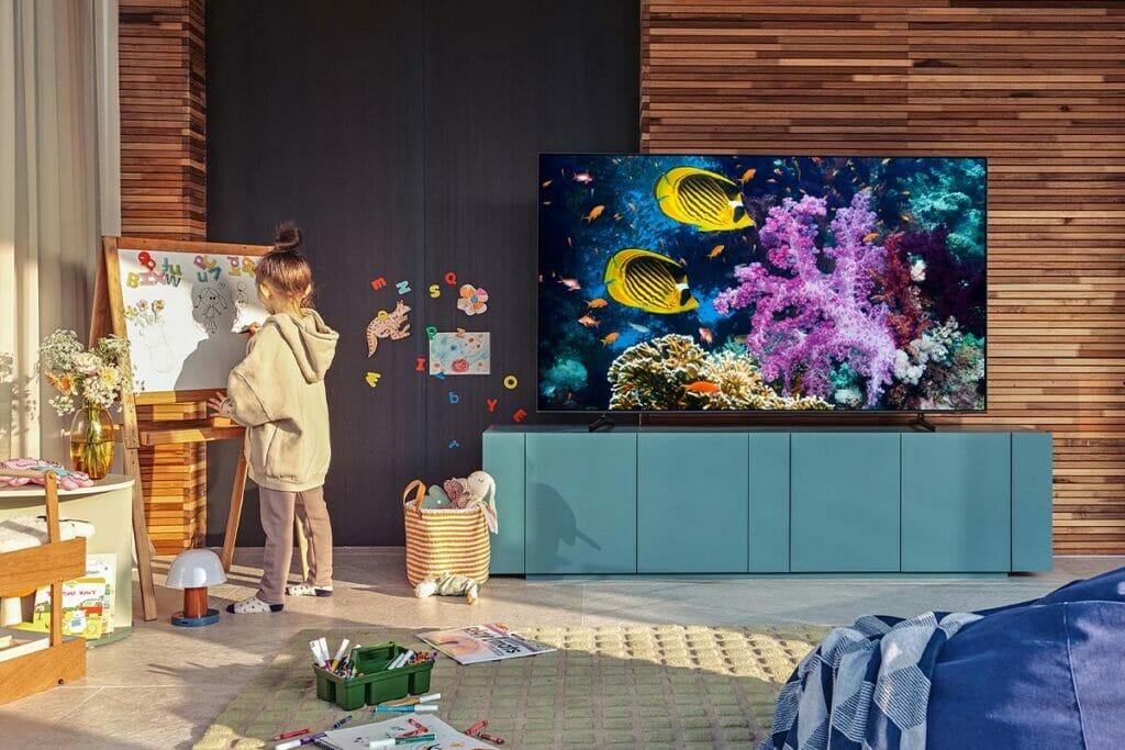 Alle TV-Modelle ab der Q60A-Serie besitzen mindestens einen HDMI 2.1-Eingang