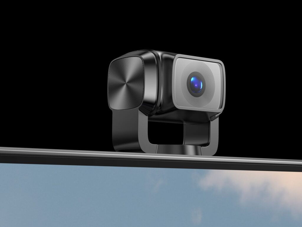 Das ausfahrbare Kamera-Segment des W82 4K OLED TV erinnert uns etwas an die 4K-Gimbal-Kamera DJI Pocket