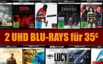 Wählt aus über 140 Titeln zwei UHD Blu-rays aus und zahlt nur 35 Euro