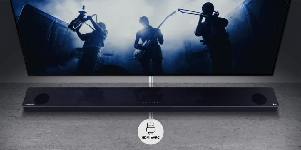 Die meisten der LG-Soundbars bieten 2021 eARC