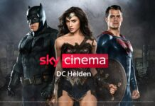 "Sky startet Pop-Up-Sender ""Sky Cinema DC Helden"""