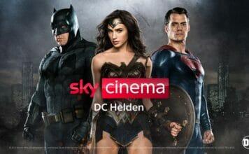 """Sky startet Pop-Up-Sender """"Sky Cinema DC Helden"""""""