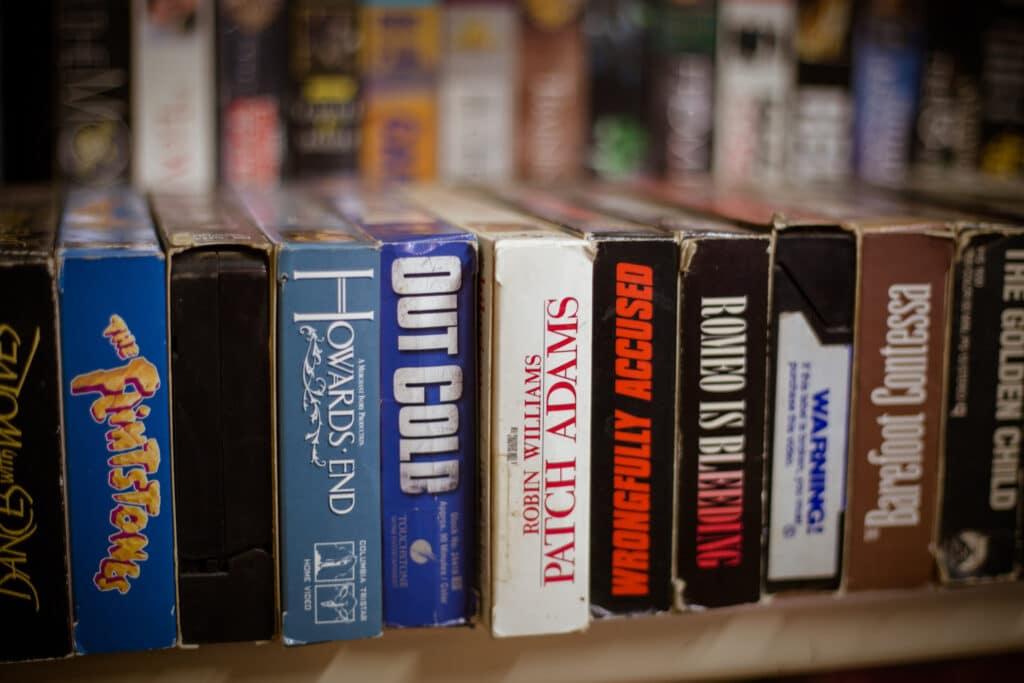 Zu VHS-Zeiten war der Kauf von Filmen noch etwas Besonderes