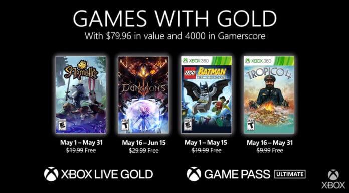 Die Xbox Games with Gold im Mai sowie die neuen PS-Plus-Titel stehen fest