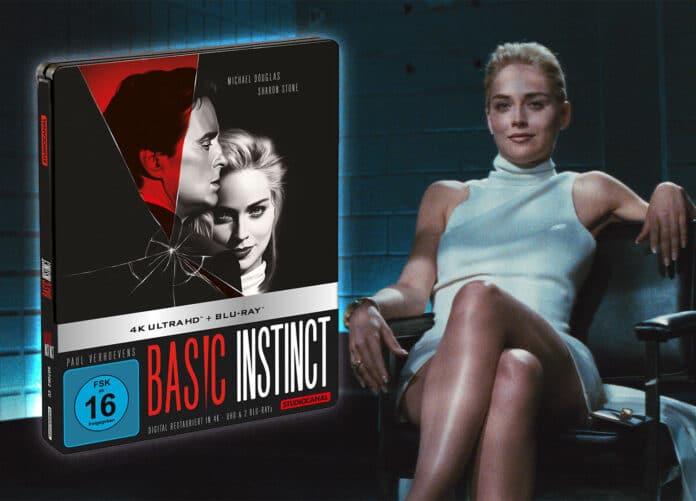 Die 4K Restauration von Basic Instinct erscheint auf 4K Blu-ray inkl. Dolby Vision im Steelbook