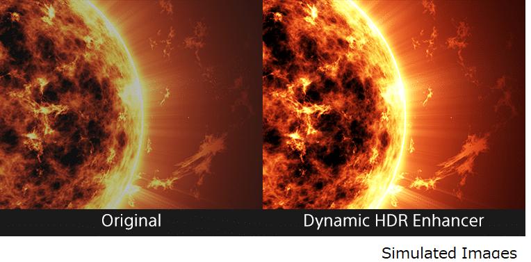 """Der """"Dynamic HDR Enhancer"""" optimiert die Bilddarstellung auf Frame-by-Frame-Basis und arbeitet Details weitaus besser heraus!"""