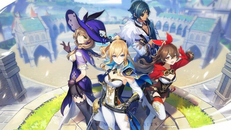 Taucht mit Genshin Impact in eine farbenprächtige Anime-Welt ein
