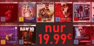 Weniger zahlen - mehr freuen! 4K Blu-rays von Studiocanal für 19.99 Euro!