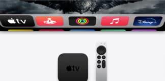 Der neue Apple TV 4K (Gen 2) mit neuer Aluminium-Fernbedienung (mit Klickrad)