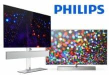 OLED986 (links) und OLED936 (rechts) 4K OLED Fernseher von Philips