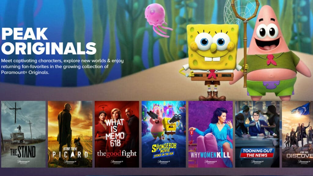 Paramount besitzt neben Disney, Warner und Universal einen der größten Film- und Serienkataloge