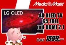 Preissturz bei diesem LG 4K OLED TV mit 65 Zoll (CX-Serie) und HDMI 2.1