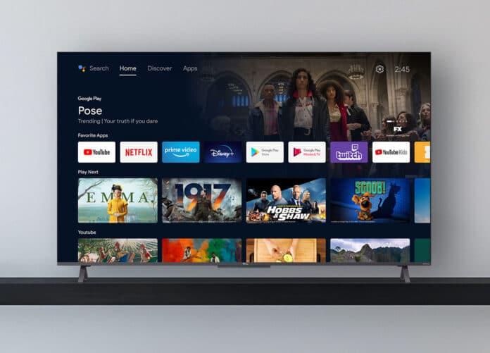 Der TCL C72 4K QLED TV mit direktem LED Backlight und Android TV 11