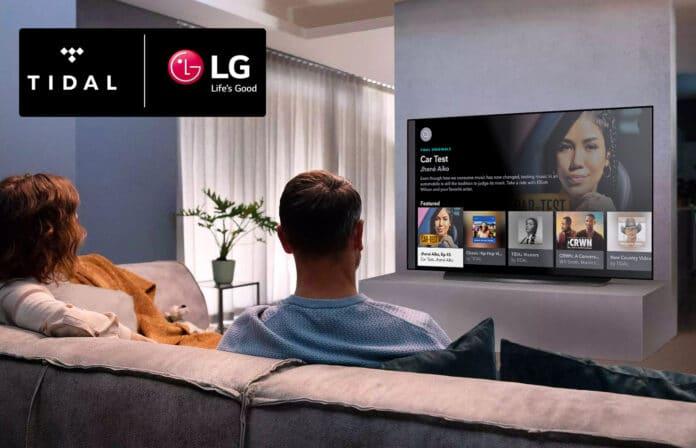 Tidal liefert Dolby Atmos Musikgenuss auf LG Smart TVs (ab 2018)