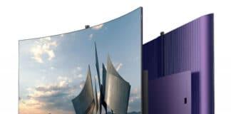 Der Skyworth W82 4K OLED TV mit biegsamen Display präsentiert sich mit bester Ausstattung