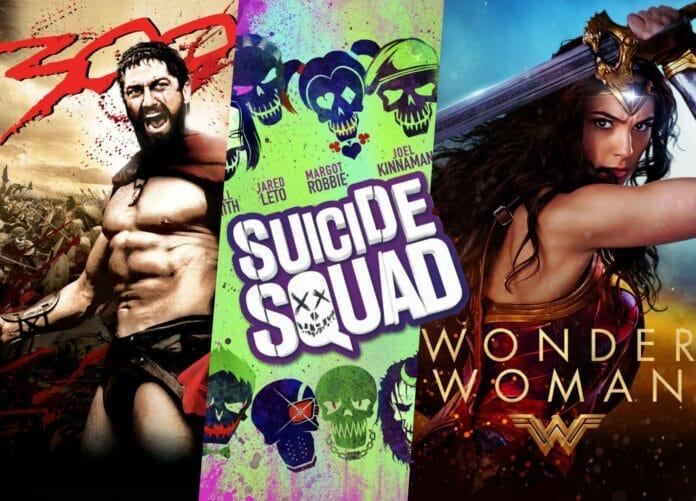 300, Suicide Squad und Wonder Woman für günstige 3.99 Euro je Titel absahnen (4K / Dolby Atmos / Dolby Vision)