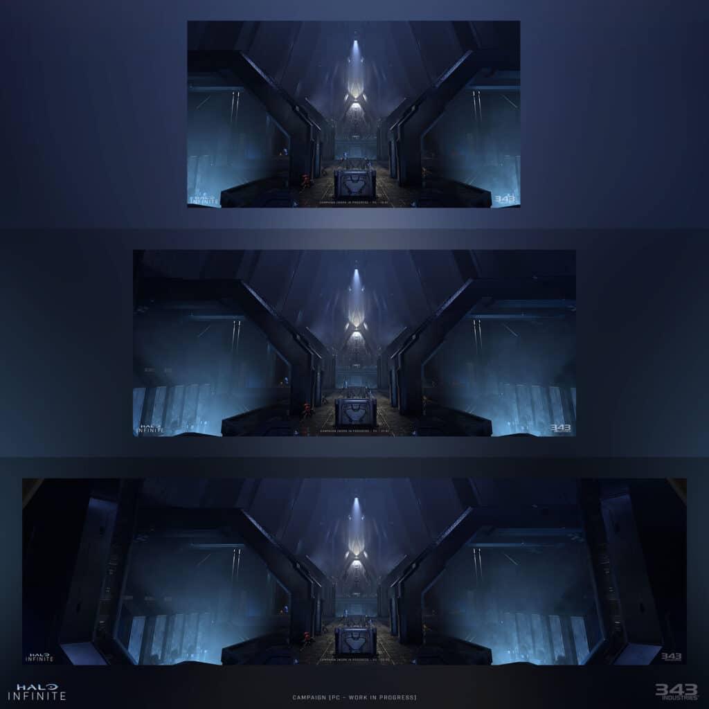 """""""Halo Infinite"""" steht am PC in verschiedenen Bildformaten zur Verfügung."""